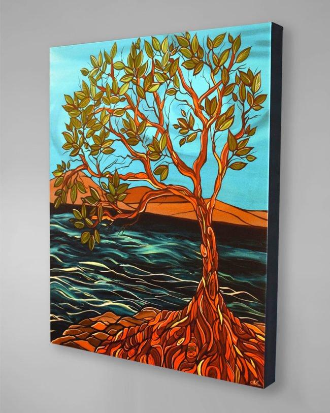 'Arbutus Afternoon' canvas print