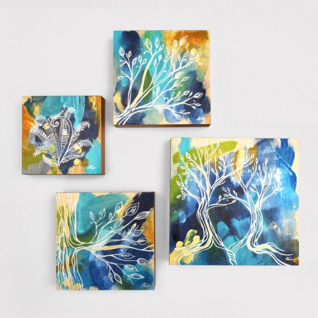 Transparent Energy Blue Collection – 8x8