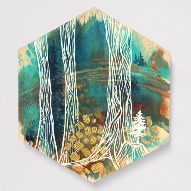 'Transparent Forest 2' 12