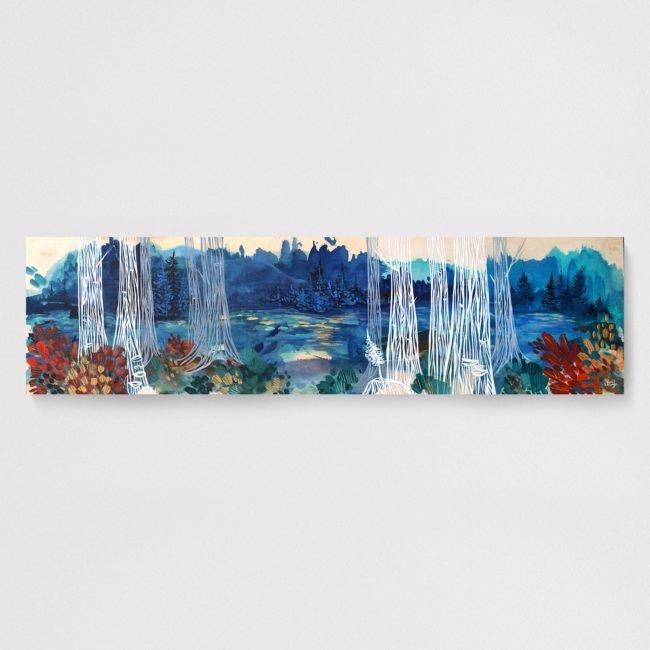 'Finding Joy' by April Lacheur. 12x48