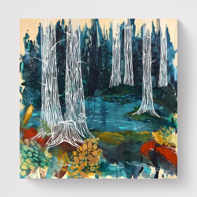 Forest Bathing. 48x48