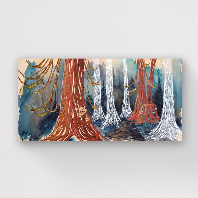 'Healing Forest' 24x48