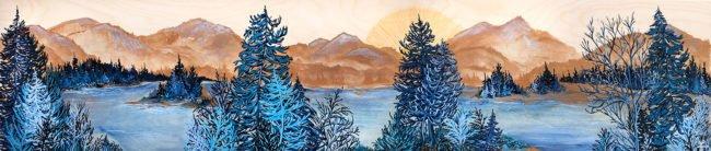 April Lacheur Art - Finding Peace- 12x60