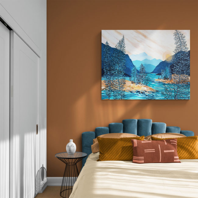 April Lacheur Art - Inner Harmony- 36x48